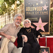 Joe Mantegna Lina Wertmuller Honored With A Star On The Hollywood Walk Of Fame