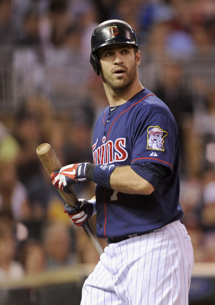 Joe  Mauer - Seattle Mariners v Minnesota Twins