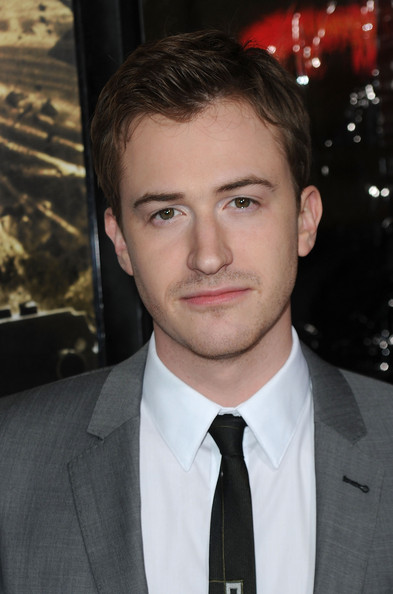 """Premiere Of HBO's """"The Pacific"""" - Arrivals [the pacific,hair,face,forehead,eyebrow,suit,hairstyle,chin,premiere,white-collar worker,formal wear,arrivals,joe mazzello,grauman,california.\u00ea,hollywood,chinese theatre,hbo,premiere,premiere]"""