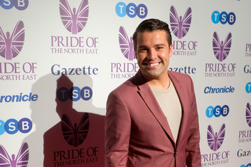 Joe McElderry Pride Of The North East Awards 2018 - Red Carpet Arrivals