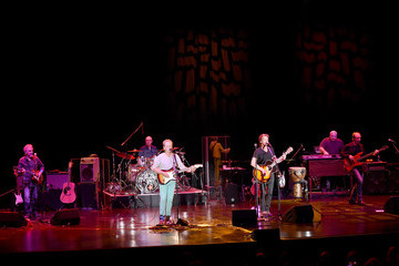 Joe Mennonna The Bacon Brothers Perform at the Orleans in Las Vegas