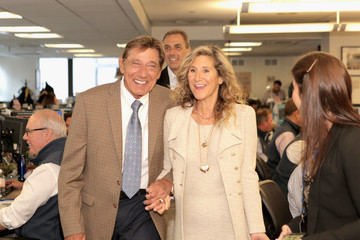Joe Namath Annual Charity Day Hosted By Cantor Fitzgerald, BGC and GFI - Cantor Fitzgerald Office - Inside