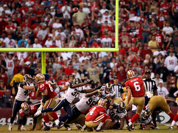 St. Louis Rams v San Francisco 49ers