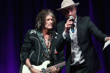 Joe Perry Steven Tyler's 2nd Annual Grammy Awards Viewing Party To Benefit Janie's Fund Presented By Live Nation - Inside