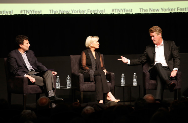 The 2018 New Yorker Festival - MSNBC Hosts Joe Scarborough And Mika Brzezinski In Conversation With The New Yorker's David Remnick