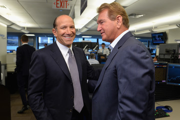 Joe Theismann Annual Charity Day Hosted By Cantor Fitzgerald, BGC and GFI - Cantor Fitzgerald Office - Inside