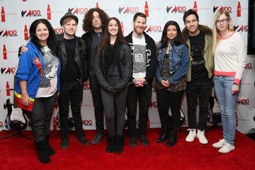 Joe Trohman Andy Hurley Arrivals at the Z100 All Access Lounge