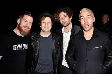 Joe Trohman Andy Hurley Behind the Scenes at the People's Choice Awards