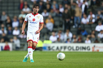 Joe Walsh Milton Keynes Dons v Swansea City - Carabao Cup Second Round