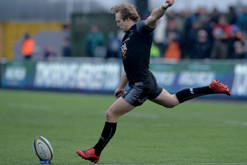 Joel Hodgson Newcastle Falcons v Gloucester Rugby - Anglo-Welsh Cup