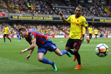 Joel Ward Watford v Crystal Palace - Premier League