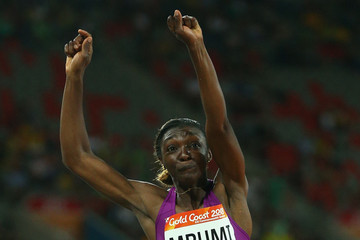 Joelle Sandrine Mbumi Nkouindjin Athletics - Commonwealth Games Day 6