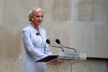 Joely Richardson Royal Family Attend The Somme Centenary Commemorations In France