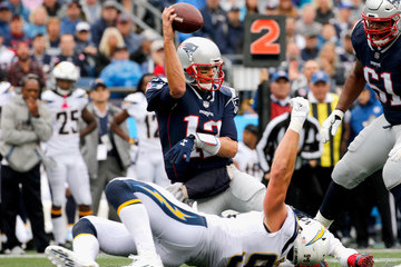 Joey Bosa Los Angeles Chargers vNew England Patriots