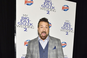 Joey Fatone Windex Brand and 'My Big Fat Greek Wedding 2' Premiere