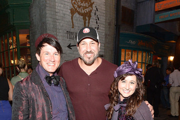Joey Fatone Red Carpet Arrivals at Diagon Alley