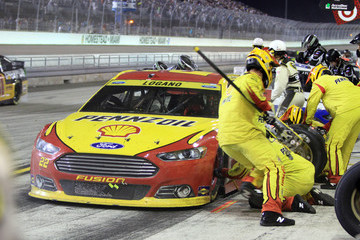 Joey Logano Ford EcoBoost 400