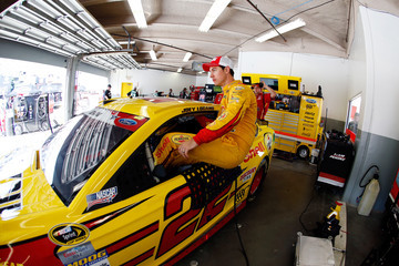 Joey Logano Daytona International Speedway - Day 1