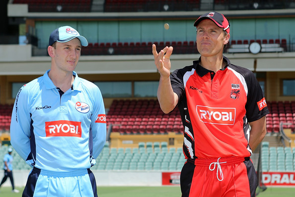 Ryobi One Day Cup - Redbacks v Blues