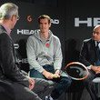 Johan Eliasch Andy Murray Promotes a New Tennis Racket