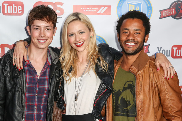 School' season 2 premiere party at youtube space la on july 24, 2013