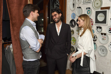 Johannes Huebl Oliver Peoples Pour Berluti Launch Celebration