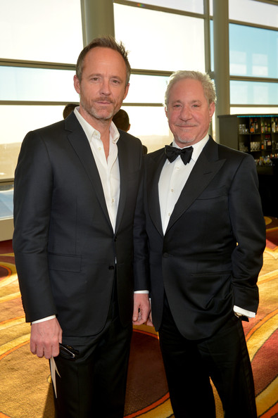John Benjamin Hickey with cool, fun, Husband Jeffrey Richman
