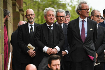John Bercow Funeral Takes Place Of Former House Of Commons Speaker