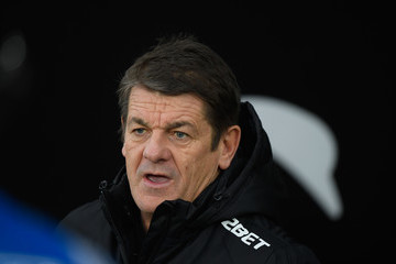 John Carver Swansea City v West Bromwich Albion - Premier League