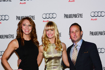 John Colabelli Philadelphia Style Magazine Holiday 2013 Cover Event With Beth Behrs From Two Broke Girls