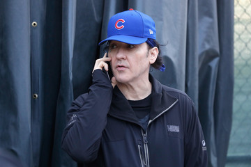 John Cusack World Series - Cleveland Indians v Chicago Cubs - Game Three