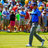 Jordan Spieth Photos - Jordan Spieth reacts after his second shot on the ninth hole during the first round of the John Deere Classic held at TPC Deere Run on July 9, 2015 in Silvis, Illinois. - John Deere Classic - Round One
