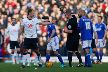 John Eustace Ipswich Town v Derby County - Sky Bet Championship