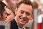 Actor Tom Hiddleston attends a ceremony honoring John Goodman with the 2,604th Star on The Hollywood Walk of Fame on March 10, 2017 in Hollywood, California.