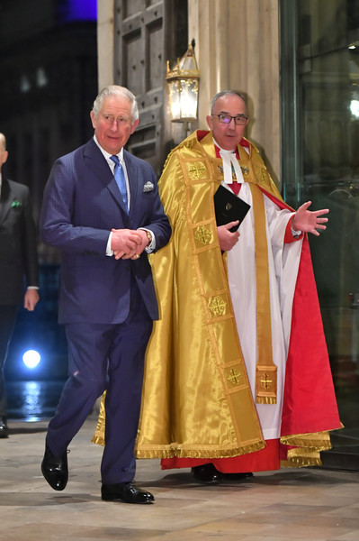 The Prince Of Wales Attends Service To Celebrate The Contribution Of Christians In The Middle East