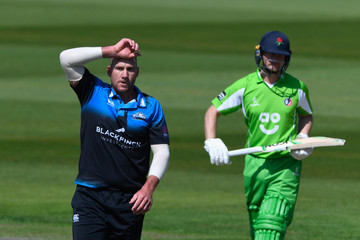 John Hastings Lancashire v Worcestershire - Royal London One-Day Cup