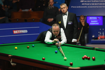 John Higgins World Snooker Championship - Day Fifteen