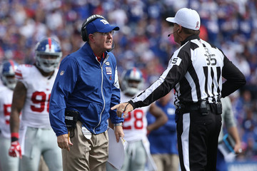 John Hussey New York Giants v Buffalo Bills