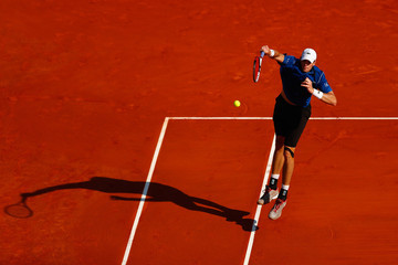 John Isner ATP Masters Series: Monte Carlo Rolex Masters - Day Two