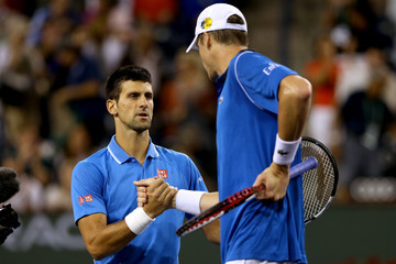 John Isner BNP Paribas Open: Day 10