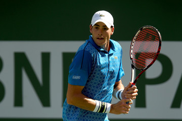 John Isner BNP Paribas Open - Day 13