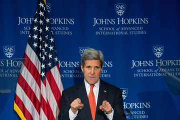 John Kerry John Kerry Discusses State of US-China Relations
