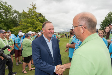 John Key ISPS Handa New Zealand Golf Open - Day 4