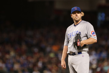 John Lackey Chicago Cubs v Arizona Diamondbacks