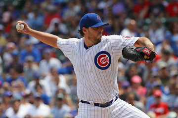 John Lackey Washington Nationals v Chicago Cubs