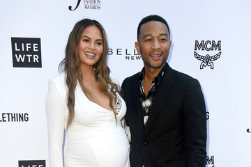 John Legend Chrissy Teigen The Daily Front Row's 4th Annual Fashion Los Angeles Awards - Arrivals