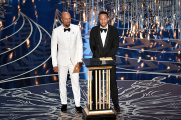 John Legend Common 88th Annual Academy Awards - Show