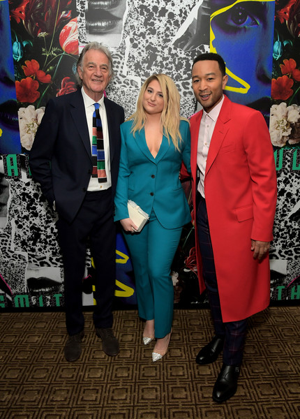 Paul Smith Honors John Legend [john legend,paul smith,paul smith honors,meghan trainor,event,suit,fun,formal wear,tuxedo,fictional character,art,dinner,los angeles,california]