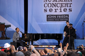 """Owen Biddle John Legend & The Roots Perform On ABC's """"Good Morning America"""""""