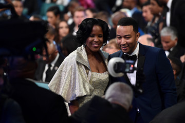 John Legend 47th NAACP Image Awards Presented By TV One - Backstage and Audience
